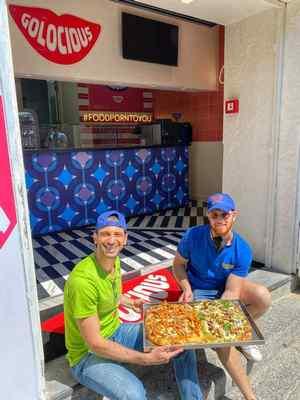 """Golocious presenta a Portici la """"Pizza in teglia"""""""